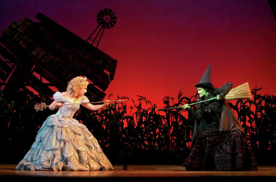 Jeanna de Waal  and Christine Dwyer in the Broadway touring production of Wicked. (Joan Marcus) Photo: Joan Marcus / ©2012, Joan Marcus