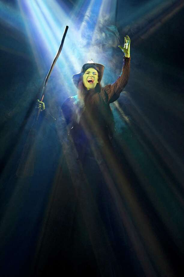 Christine Dwyer in the Broadway touring production of Wicked. (Joan Marcus)