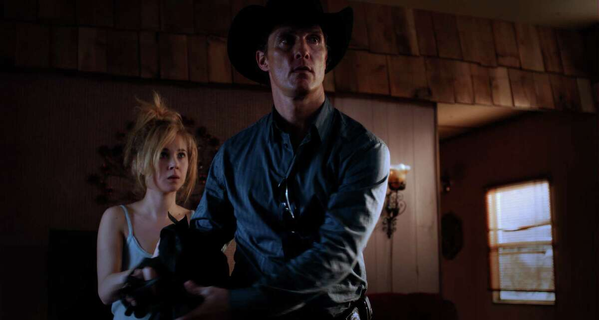LD Entertainment Matthew McConaughey, as the title character, and Juno Temple in William Friedkin?s KILLER JOE.