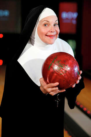 "Cindy Williams is starring in ""Nunset Boulevard: The Nunsense Hollywood Bowl Show: which i being presented at the Palace Theater in Waterbury on Thursday, Nov. 8. The show is a fundraiser for the Abbey of Regina Laudis in Bethlehem, where former movie star, Sister Dolores Hart has resided for the past 50 years. Photo: Contributed Photo"