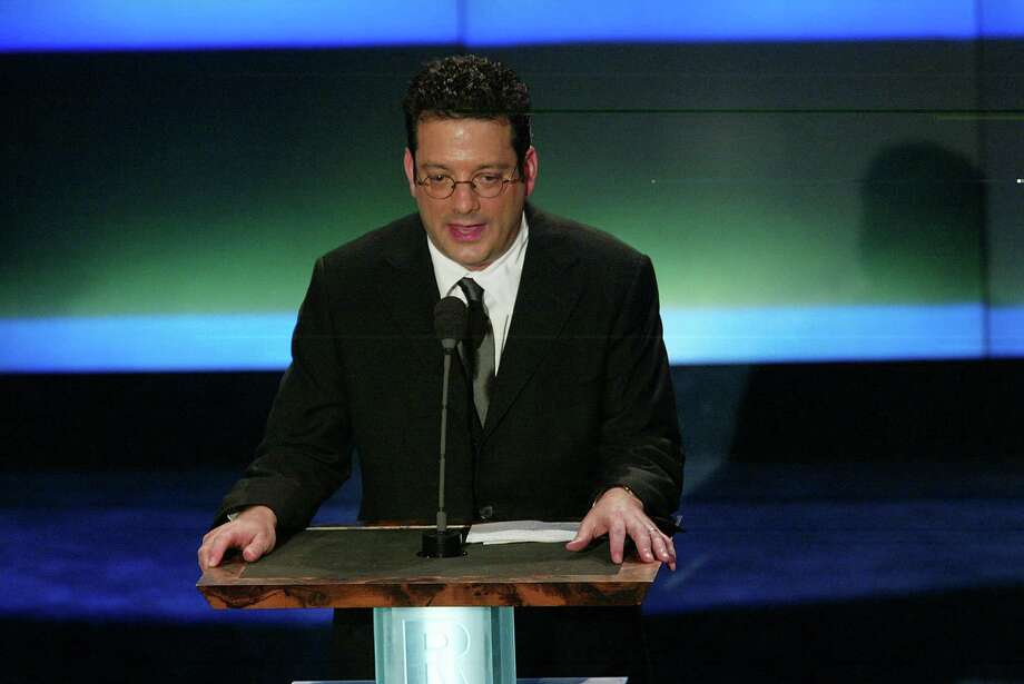 Comedian Andy Kindler, shown in New York in 2002, kept the jokes coming despite the empty seats at S.A.'s Laugh Out Loud Comedy Club. Photo: Frank Micelotta, Getty Images / Getty Images North America