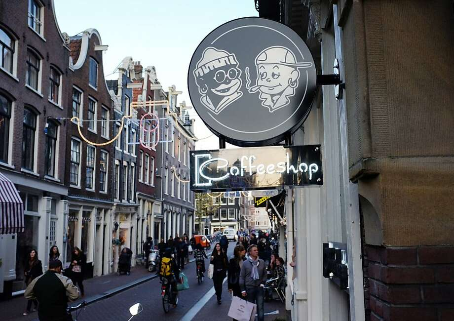 Coffee shops in Amsterdam will continue to sell marijuana and hashish - and coffee - past Jan. 1. Photo: Nathalie Magniez, AFP/Getty Images
