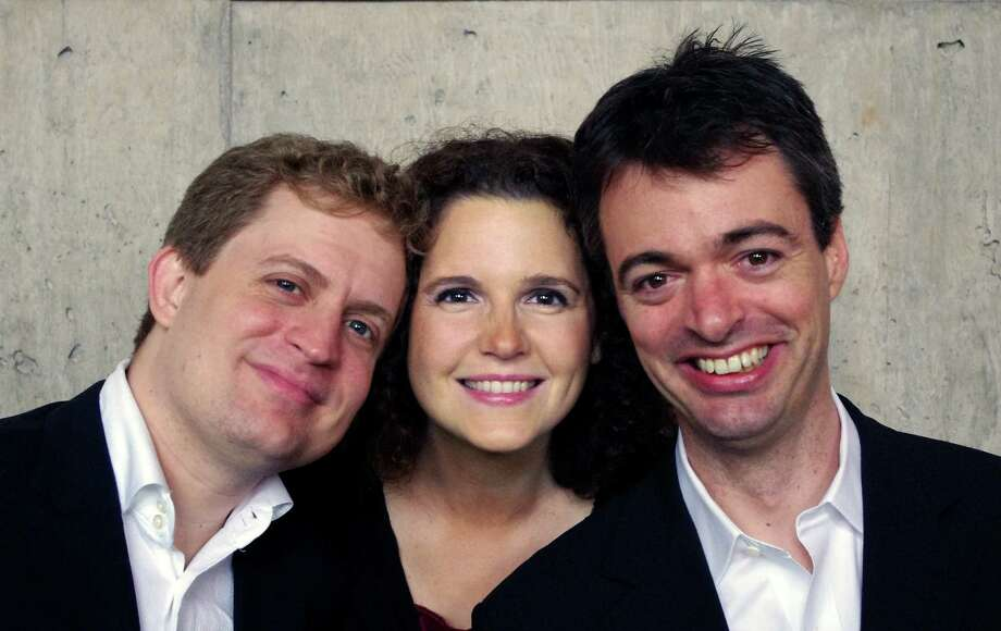 Amelia Piano Trio will perform in Newtown on Sunday, Nov. 11, with Connecticut native Andrew Armstrong. Photo: Contributed Photo
