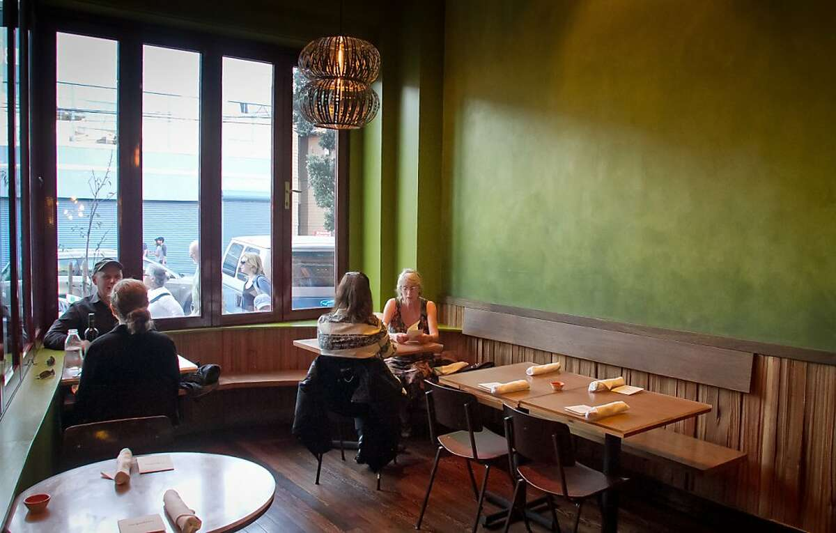 Diners enjoy dinner at Nopalito in San Francisco, Calif., on Saturday, October 27th, 2012.