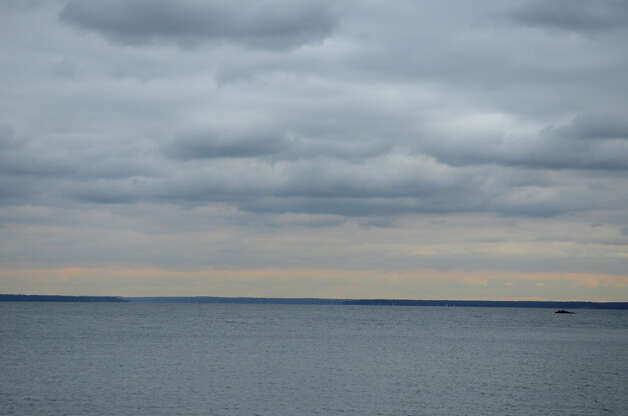 View of Long Island Sound from Cove Island Beach in Stamford on Thursday, Nov. 1, 2012. Photo: Amy Mortensen / Stamford Advocate Freelance