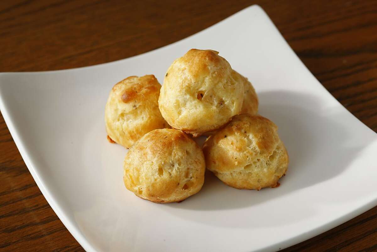 Fontina and Herb Gougeres as seen in San Francisco, California on Wednesday, October 24, 2012. Food styled by Amanda Gold.