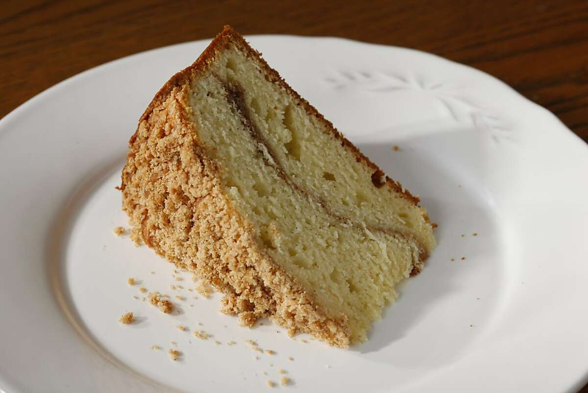 Sour Cream Coffee Cake as seen in San Francisco, California on Wednesday, October 24, 2012. Food styled by Amanda Gold.