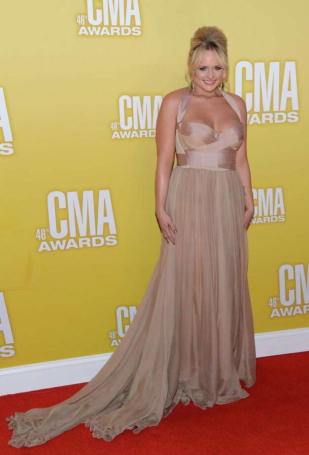 Country music artist Miranda Lambert attends the 46th annual CMA Awards at the Bridgestone Arena on November 1, 2012 in Nashville, Tennessee. Photo: Jason Kempin, Getty Images / 2012 Getty Images