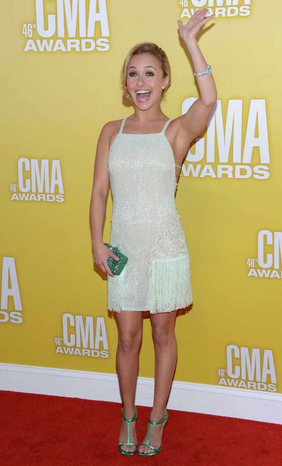 Actress/singer Hayden Panettiere attends the 46th annual CMA Awards at the Bridgestone Arena on November 1, 2012 in Nashville, Tennessee. Photo: Jason Kempin, Getty Images / 2012 Getty Images