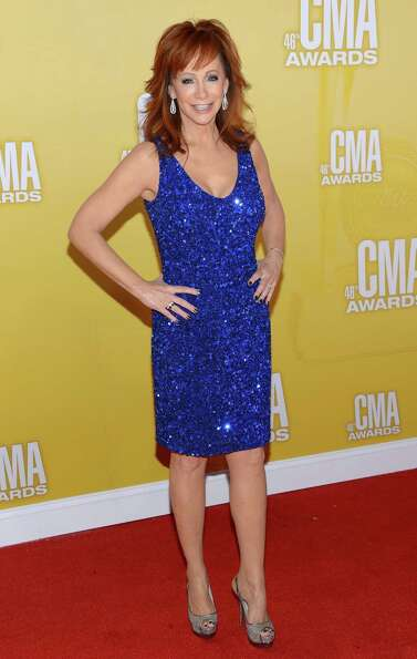 Country music artist/actress Reba McEntire attends the 46th annual CMA Awards at the Bridgestone Are
