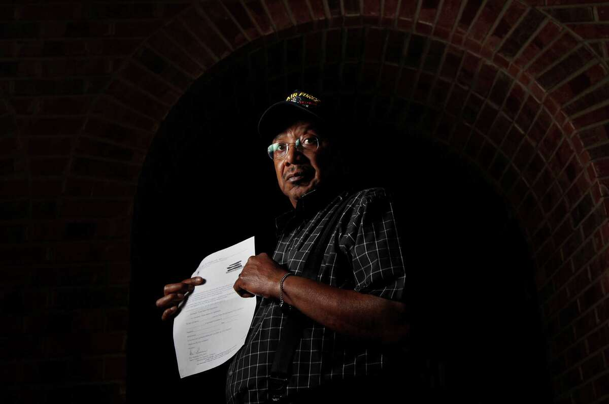 James Harris is one of thousands of Harris County voters who got letters asking if they were dead.