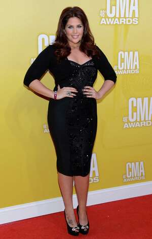 Hillary Scott of Lady Antebellum attends the 46th annual CMA Awards at the Bridgestone Arena on November 1, 2012 in Nashville, Tennessee. Photo: Jason Kempin, Getty Images / 2012 Getty Images