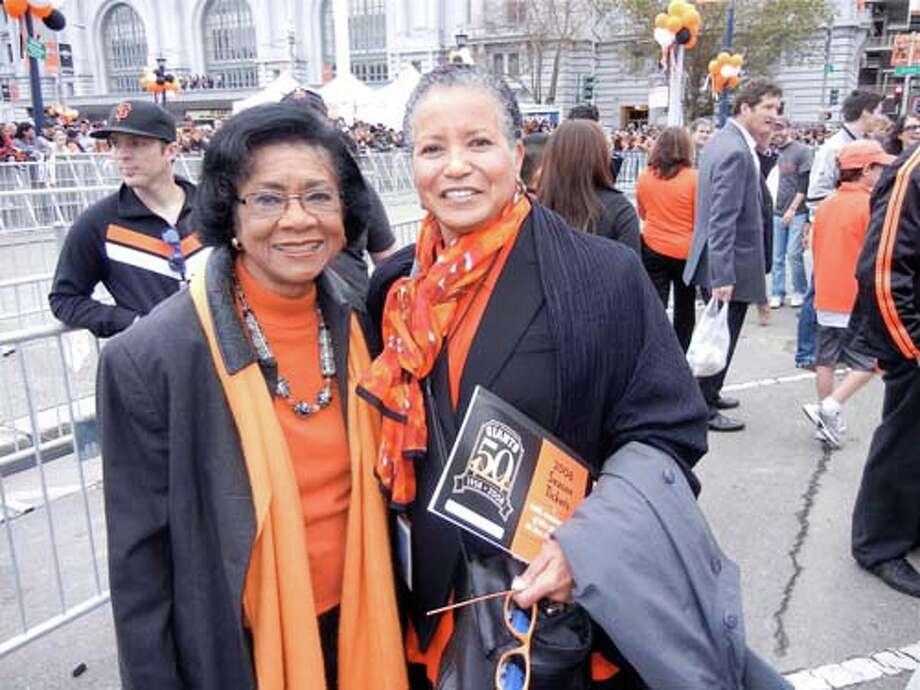 Journalists Belva Davis (left) and ABC7's Cheryl Ward (Catherine Bigelow)