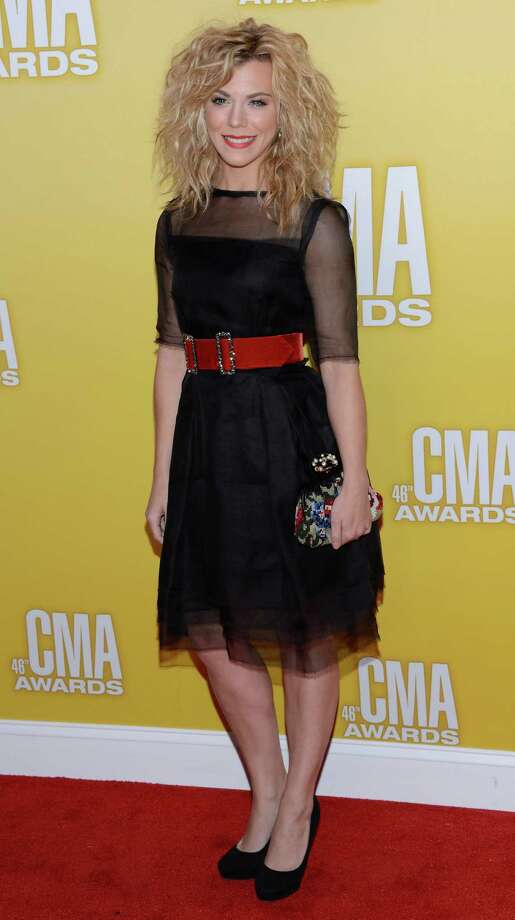 Kimberly Perry of The Band Perry attends the 46th annual CMA Awards at the Bridgestone Arena on November 1, 2012 in Nashville, Tennessee. Photo: Jason Kempin, Getty Images / 2012 Getty Images