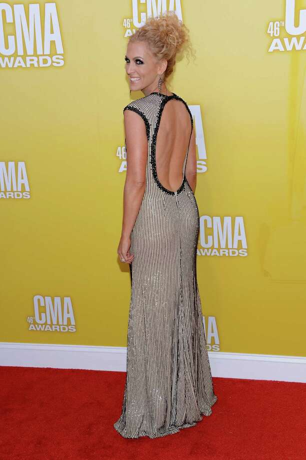 Kimberly Schlapman attends the 46th annual CMA Awards at the Bridgestone Arena on November 1, 2012 in Nashville, Tennessee. Photo: Jason Kempin, Getty Images / 2012 Getty Images