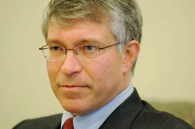 Phil Steck, candidate in the 110th Assembly District race, Wednesday Oct. 24, 2012. Steck is running against Jennifer Whalen.  (Will Waldron / Times Union)