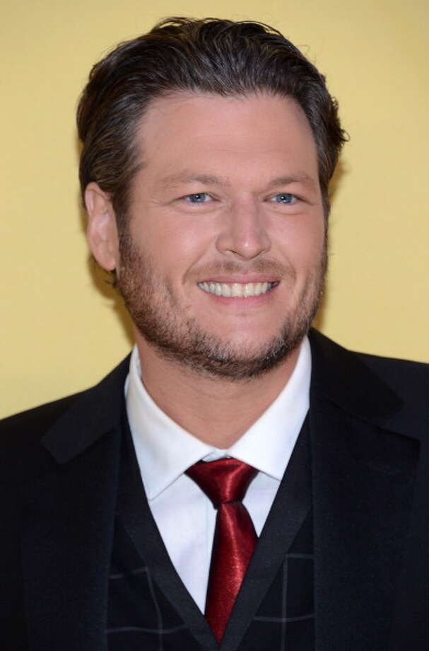 Blake Shelton attends the 46th annual CMA Awards at the Bridgestone Arena on November 1, 2012 in Nashville, Tennessee. Photo: Jason Kempin, Getty Images / 2012 Getty Images