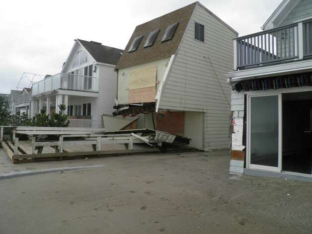 Fairfield PD photos of the damage caused when Sandy slammed into the East Coast Monday night.  See more of the photos on their Facebook page:https://www.facebook.com/media/set/?set=a.413160518737214.99679.379653075421292&type=1  (Fairfield Police Dept.) Photo: Contributed Photo / Connecticut Post Contributed