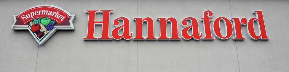 Sign at the Hannaford supermarket on Columbia Turnpike in East Greenbush Thursday Nov. 1, 2012. (John Carl D'Annibale / Times Union)