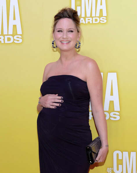 Jennifer Nettles of Sugarland attends the 46th annual CMA Awards at the Bridgestone Arena on Novembe