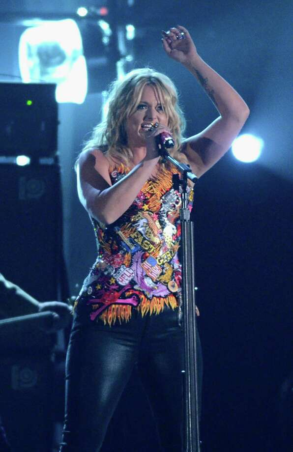 NASHVILLE, TN - NOVEMBER 01:  Miranda Lambert performs during the 46th annual CMA Awards at the Bridgestone Arena on November 1, 2012 in Nashville, Tennessee. Photo: Jason Kempin, Getty Images / 2012 Getty Images
