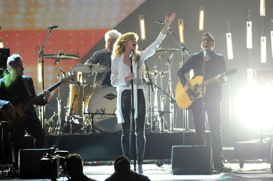 NASHVILLE, TN - NOVEMBER 01:  Faith Hill performs during the 46th annual CMA Awards at the Bridgestone Arena on November 1, 2012 in Nashville, Tennessee. Photo: Jason Kempin, Getty Images / 2012 Getty Images