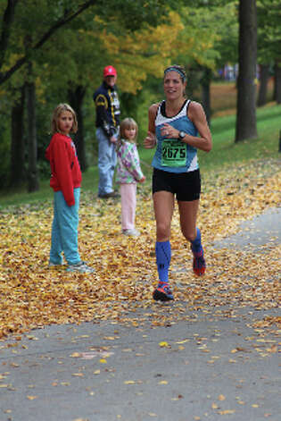 Gretchen Oliver, a local runner who is running the New York City Marathon on Sunday, Nov. 4. (Courtesy of Gretchen Oliver)