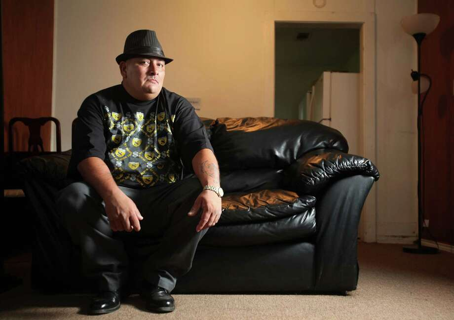 George Rodriguez is broke and lives in a one bedroom home after serving 17 years in prison for a crime he did not commit, according to DNA evidence. (Mayra Beltran / Chronicle ) Photo: Mayra Beltran, Staff / Houston Chronicle