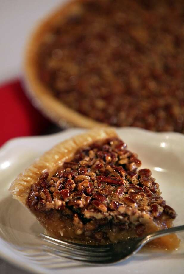 The Barn Door's Pecan Pie has been a favorite of many over the years. See recipe below. (Bob Owen / San Antonio Express-News)