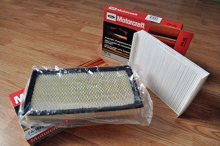 Dirty air filter: A dirty air filter can decrease gas mileage by as much as 10 percent. It's an easy switch that can save you dollars at the pump.  (BL / Flickr)