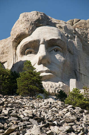 SOUTH DAKOTA: Mount Rushmore is in Pennington County and can be paired with a trip to the still-unfinished Crazy Horse memorial near Custer. Sebastian Bergmann/Flickr Creative Commons