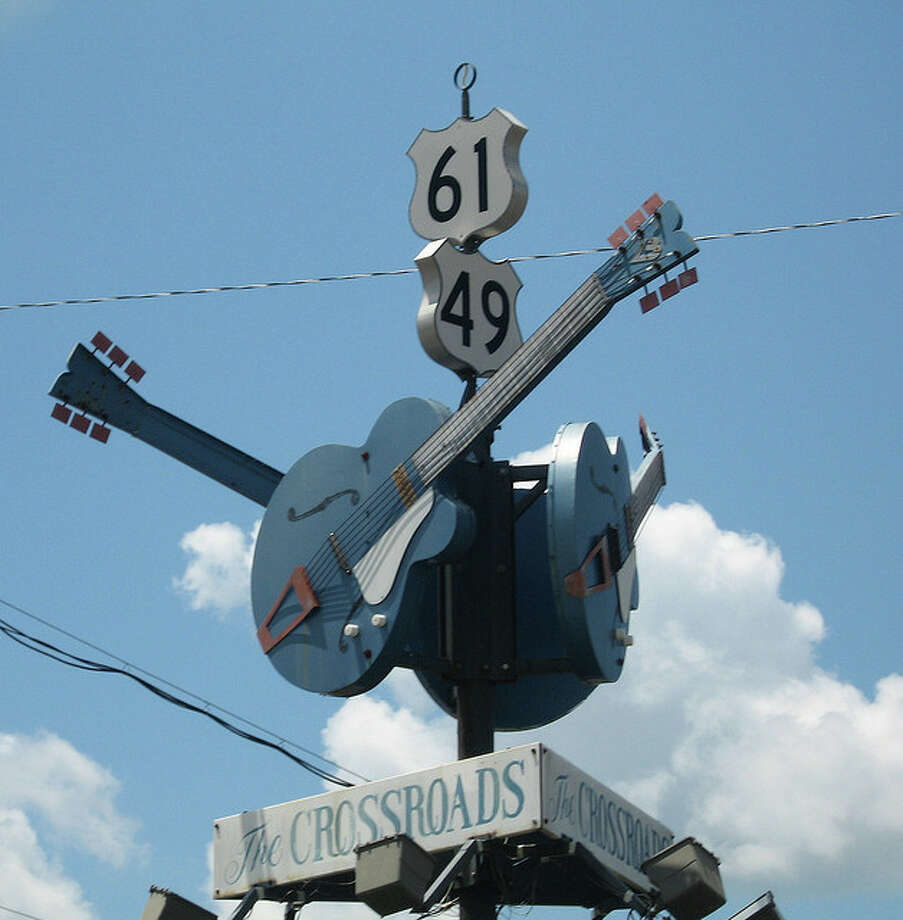 MISSISSIPPI: Some think this is the corner where Robert Johnson sold his soul to the devil to learn how to play the blues. And just two hours away in a state with a rich musical heritage is the hardware store where Elvis got his first guitar.  JMazzolaa/Flickr Creative Commons