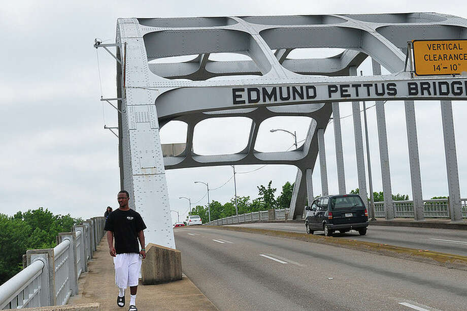 ALABAMA: This bridge in Selma was the site of one of the largest confrontations of the civil rights movement in the 1960s. A group of protesters marching to Montgomery was turned back by police with clubs and tear gas after crossing the span. Social_Stratification/Flickr Creative Commons