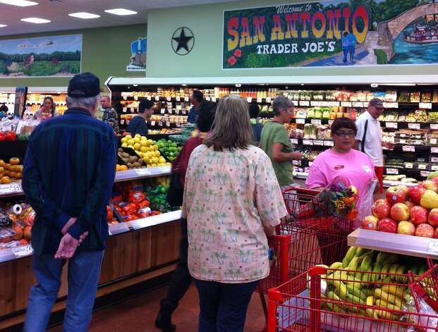 San Antonio's Trader Joe's opened Friday, Nov. 2, 2012. Photo: Ana Ley/Express-News