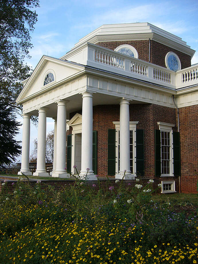 VIRGINIA: Thomas Jefferson is buried on the grounds of the plantation outside Charlottesville. He got ideas for designing the house after his service for the U.S. government in France in the 1780s.
