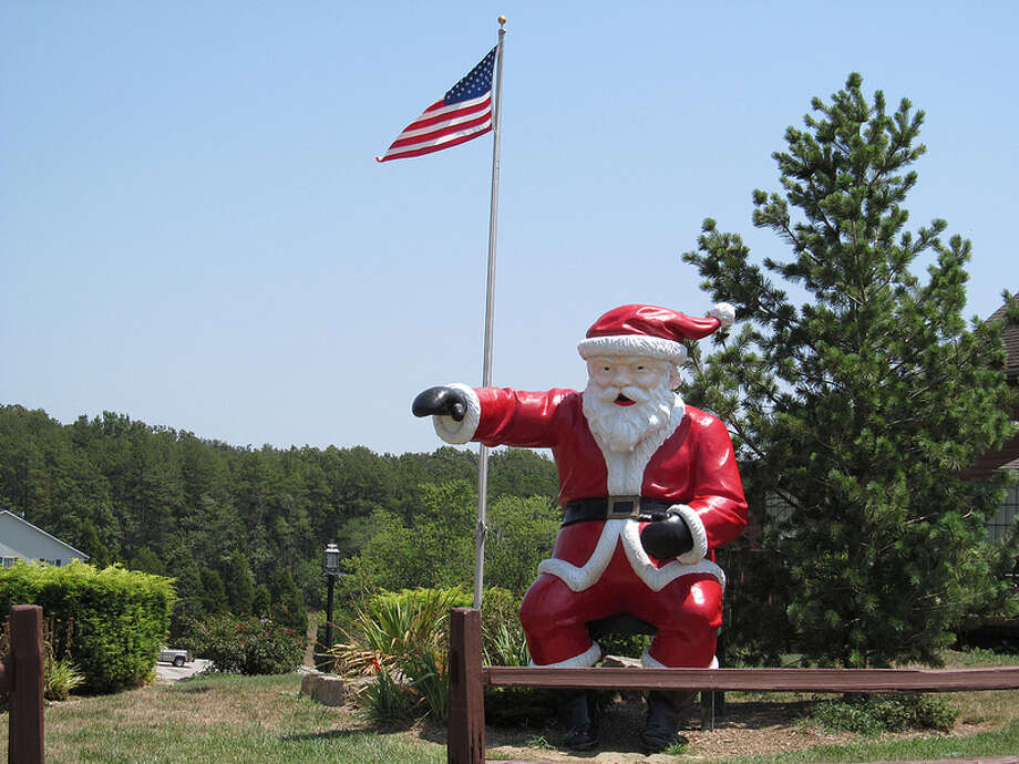 """INDIANA: The story goes that the people of Santa Claus originally wanted to be called """"Santa Fe"""" but were rebuffed. Today it's more famous than the other Santa Clauses in Georgia and Arizona. Dougtone/Flick Creative Commons"""