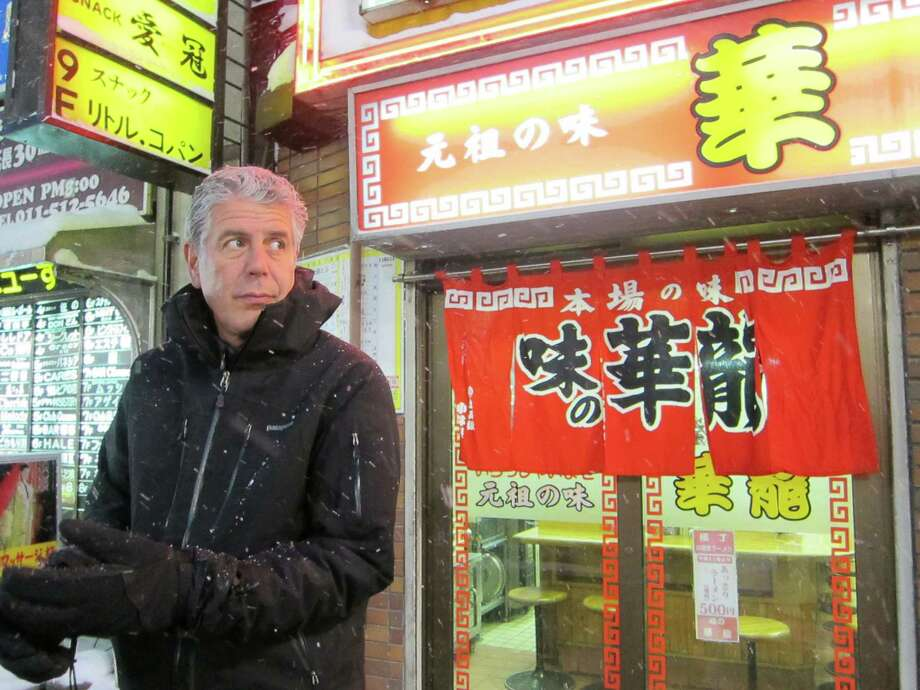 """Anthony Bourdain joins a panel of prominent chefs as a judge on the new ABC cooking competition """"The Taste."""" Photo: Courtesy Travel Channel"""