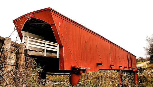 IOWA: Covered bridges like this one in Madison County, same as the movie, draw amateur photographers by the hundreds. The county has six covered bridges in all; knock another thing off your list by visiting John Wayne's birthplace. Phil Roeder/Flickr Creative Commons