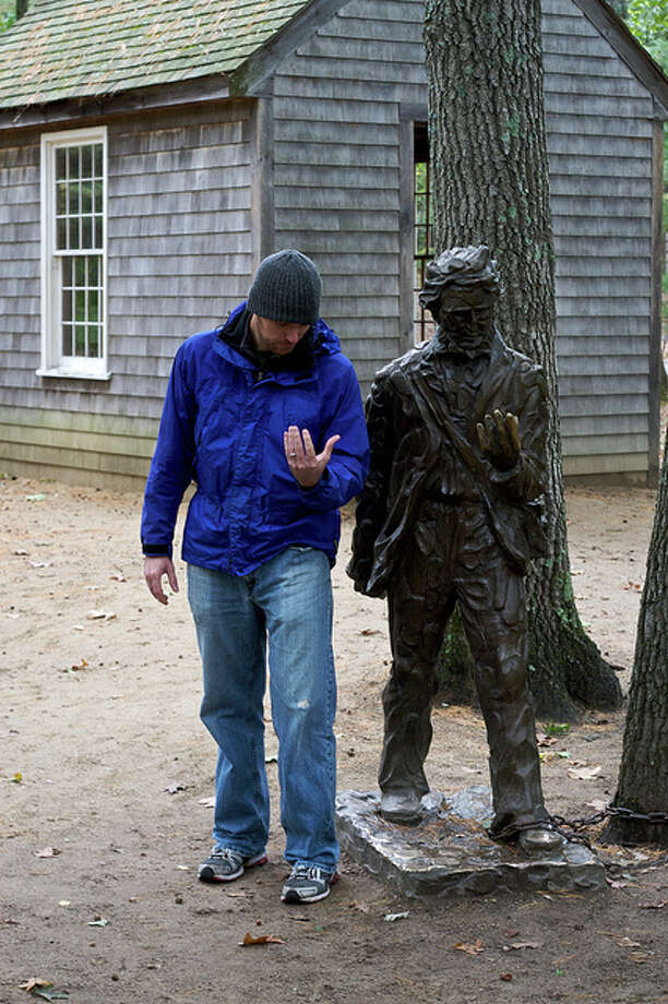 MASSACHUSETTS: Henry David Thoreau made Walden Pond famous as the inspiration for his manual for self-reliance. His desk, bed and chair remain at the museum on the site. Chiot's Run/Flickr Creative Commons