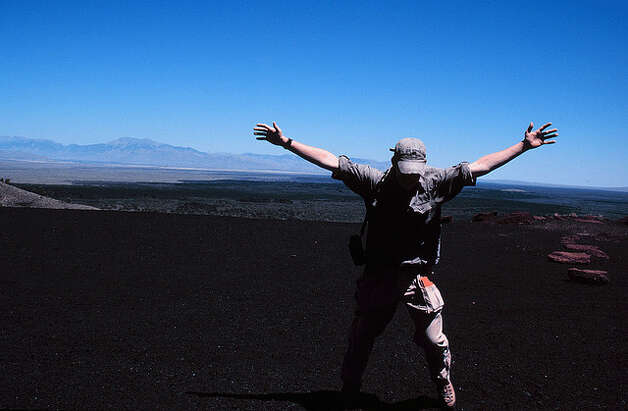 IDAHO: The Craters of the Moon National Monument and Preserve has three major lava fields, giving the park a lunar look. douglaspperkins/FlickrCreativeCommons