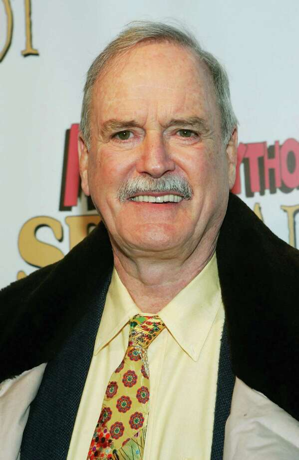 "Monty Python member John Cleese attends the opening night after party for ""Monty Python's Spamalot"" at Roseland Ballroom March 17, 2005, in New York City. Photo: Evan Agostini, Getty / 2005 Getty Images"