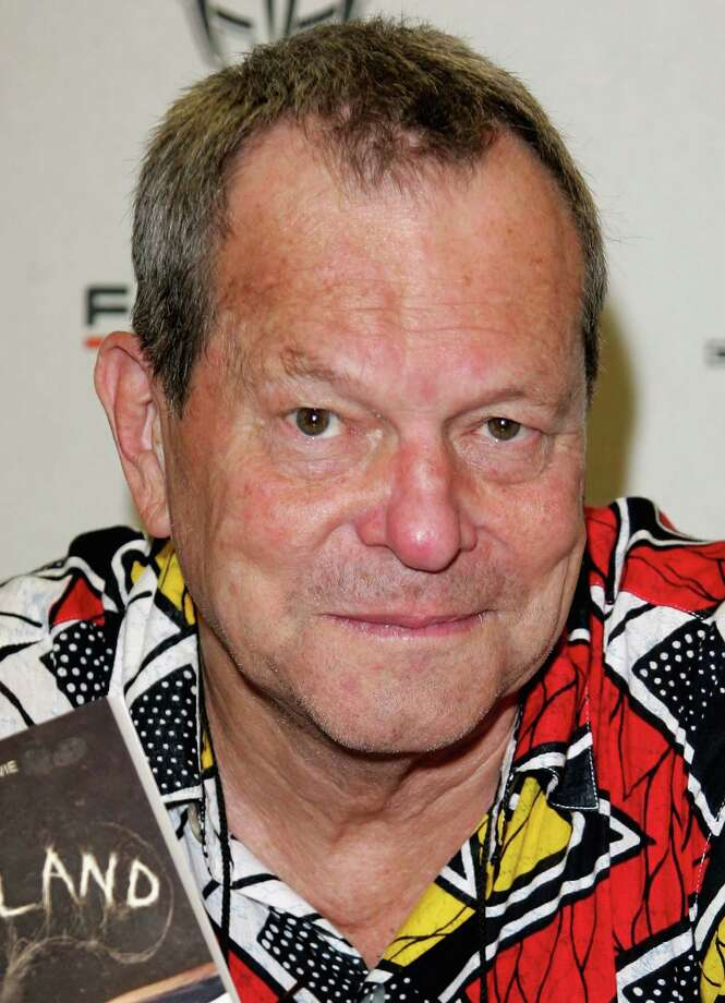 "Life goes on for the Pythons. Terry Gilliam is seens on Aug. 5, 2006, when he was promoting a news movie, ""Tideland,"" in London.  Photo: Gareth Cattermole, Getty / 2006 Getty Images"