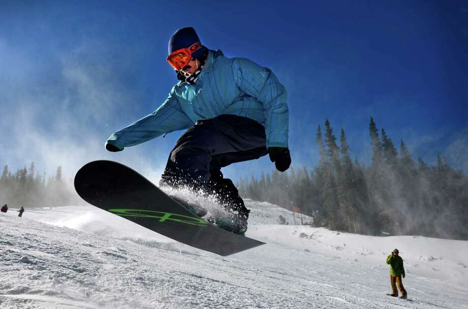 The folks at Arapahoe Basin Ski Resort in Colorado have added a conveyor lift on the bunny slope and a new terrain park designed for beginners. Photo: Jack Dempsey, HOEP / Colorado Ski Country USA