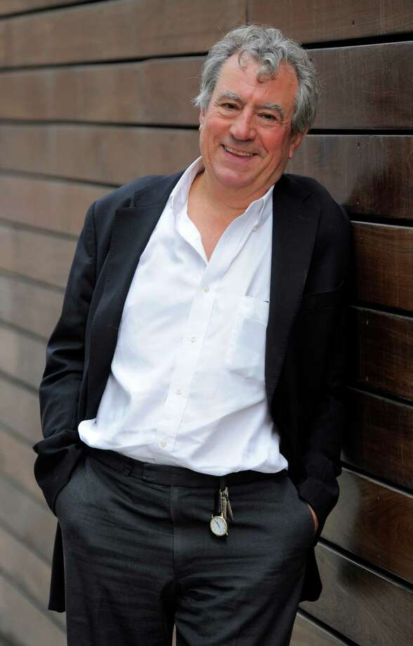 "Terry Jones, featured in the 3-D animated film ""A Liar's Autobiography -- The Untrue Story of Monty Python's Graham Chapman,"" poses for a portrait at the 2012 Toronto Film Festival, in September in Toronto. Jones thinks Chapman would have loved the cryptic mishmash of observations, self-analysis, bizarre asides, flights of fancy and revisionist personal history that make up the film. (Photo by Chris Pizzello/Invision/AP, File) Photo: Associated Press"