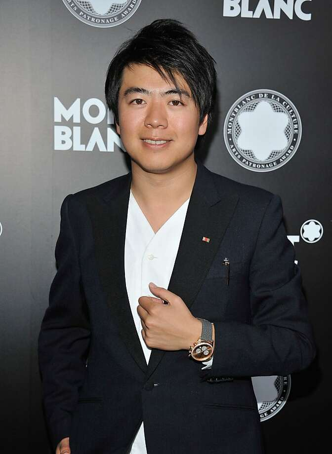 Lang Lang was the piano soloist with the S.F. Symphony. Photo: Angela Weiss, Getty Images