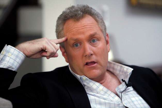 Conservative media publisher  Andrew Breitbart died at 43 of heart failure. Photo: Reed Saxon, STF / AP