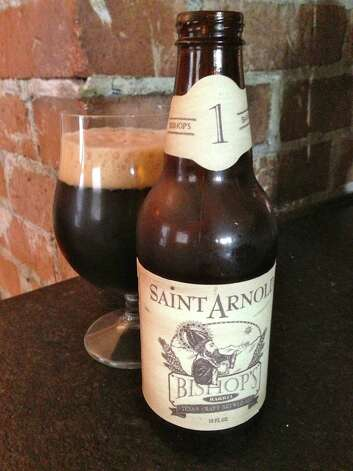 The first in Saint Arnold Brewing's Bishop's Barrel series of barrel-aged beers is scheduled for release in pubs and restaurants on Nov. 5, 2012. Photo: Ronnie Crocker