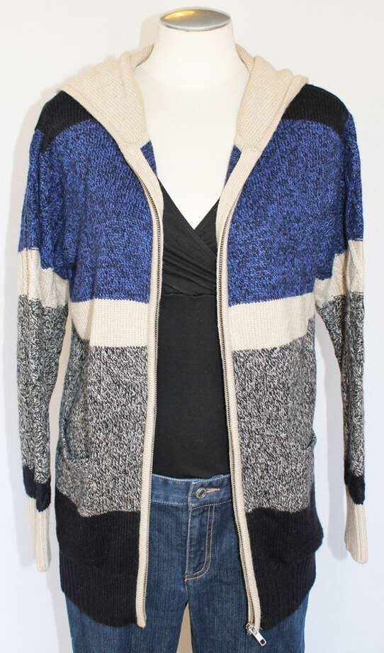AIKO sweater, NWT Photo: Lauren Robinson/Seattle Goodwill