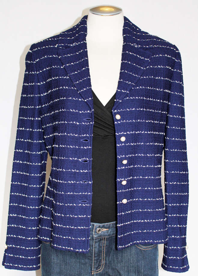 St. John Collection jacket, NWT Photo: Lauren Robinson/Seattle Goodwill