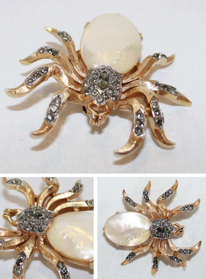 Spider brooch Photo: Lauren Robinson/Seattle Goodwill